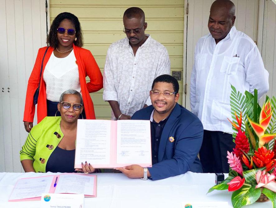 Signature de la convention  tourisme avec le CTIG